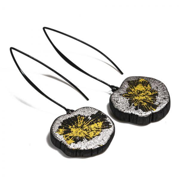 Boucles d'oreilles KURO-FULI-PALLA-KIN